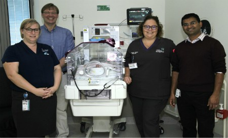 Neonatal intensive care unit now accepting younger patients